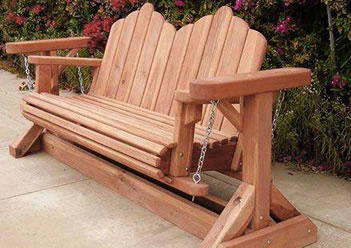 bench porch swing amazing plans design