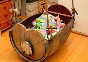 baby barrel cot