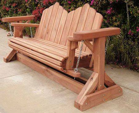 gorgeous porch swing - bench swing